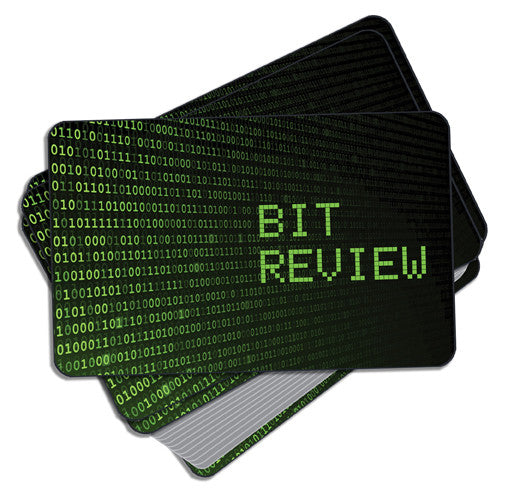 Bit Review Card Game
