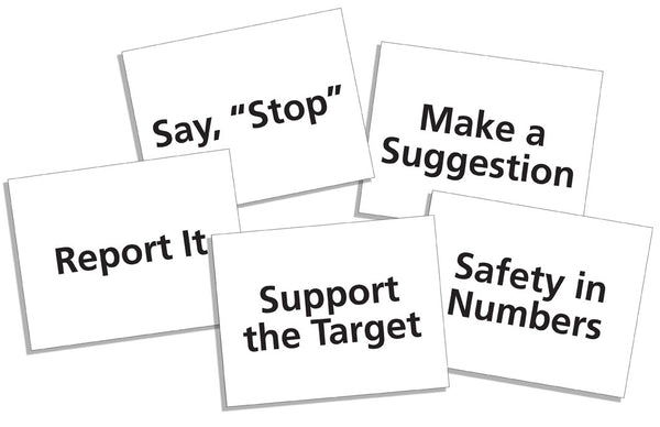 Bullying Response Strategy Cards