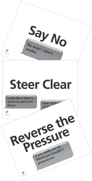 Peer Refusal Strategy Cards