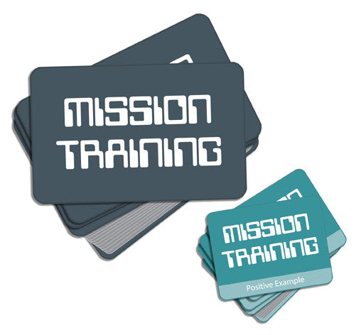 Mission Training Game Cards