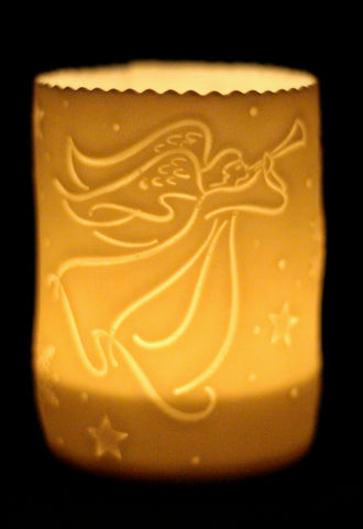 Angel Porcelain Tealight holder