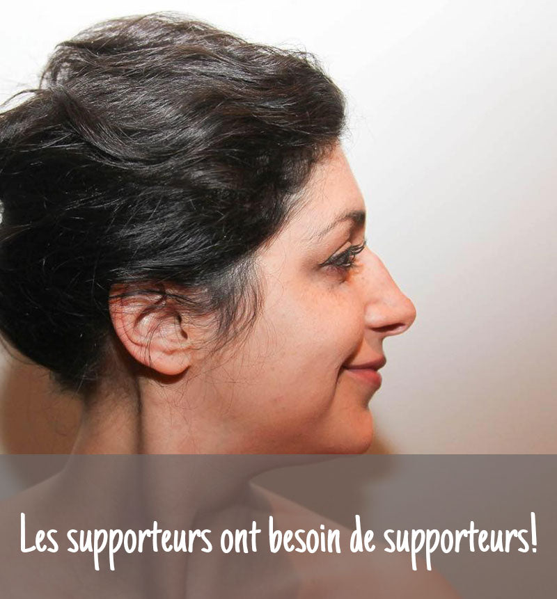 Les supporteurs ont besoin...