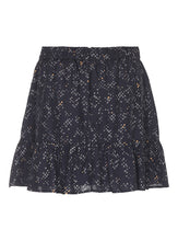 Emmanuella Printed Silk Skirt