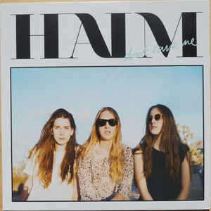 "HAIM ‎– Don't Save Me  10"" WHITE VINYL USED LP N.M."