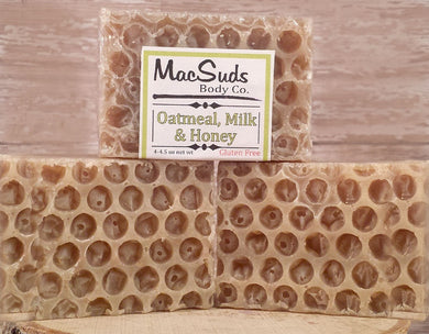 Oatmeal, Milk & Honey Natural Soap