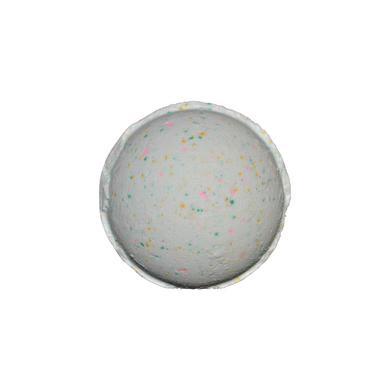 Crush Bath Bomb - orange w/light Floral