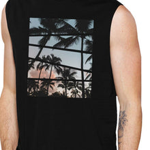 California Sunset Photography Sleeveless Muscle T
