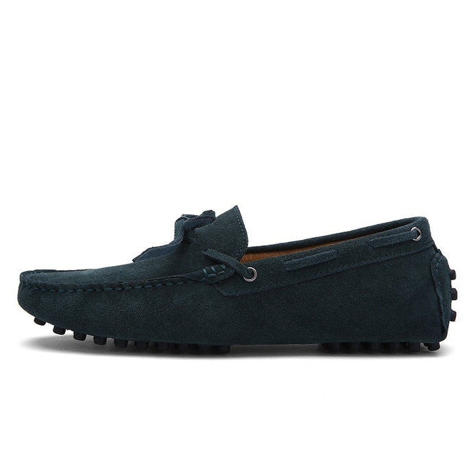 Suede Leather - Loafers Moccasins Flats Driving