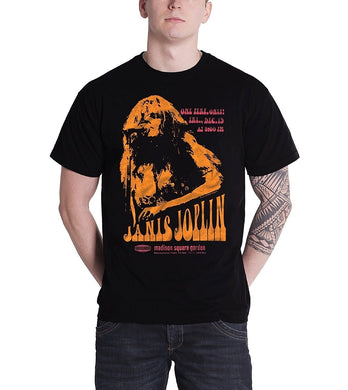 Janis Joplin T Shirt Live At Madison Poster