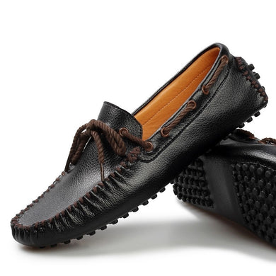 Casual Genuine Leather Loafers /Moccasins