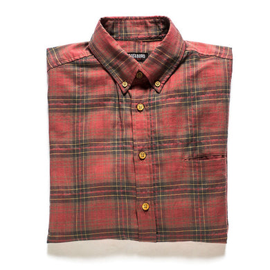Tailored Fit Plaid Button Down