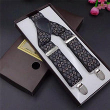 Three Clip Suspenders