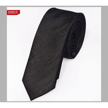 Slim Polyester Woven Ties