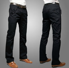 Business Casual Straight-legged Long Trousers