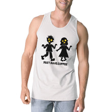 Must Have Coffee Zombies White Tank