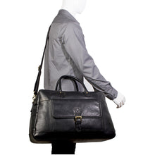 Classic Leather Cabin Sized Duffel