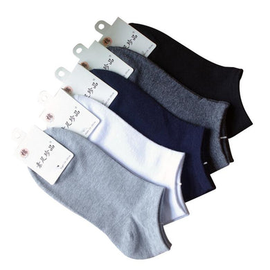 5 pair Cotton Ankle Socks
