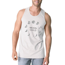 Moon Child White Tank Top