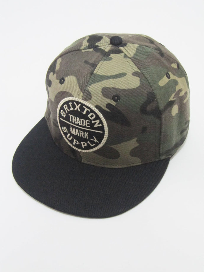 Camouflage Patched Snap Cap