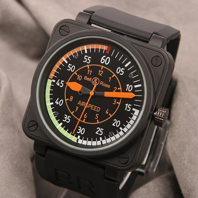 Square Dial Military Sport