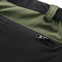 Outdoor Sports Mountain Climbing Pants Plus Size Stitching Elastic Extendable Quick Dry Trousers