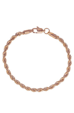 Mister Rope Wristpiece- Rose Gold