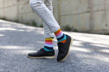 5-Pair Colorful Striped Socks