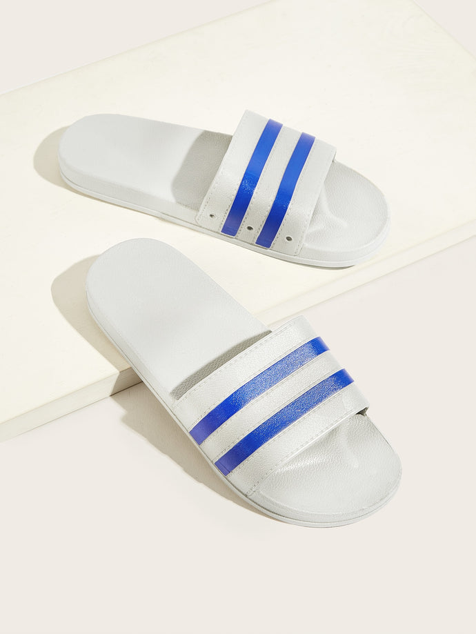 Striped Wide Fit Sliders