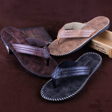 Leather Beach Flip-flops