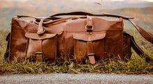 "Overhead Duffel ""Leather"""