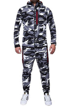 Sport Set Camouflage Tracksuit Male Hoodie Sport Trouser for Mens and pants