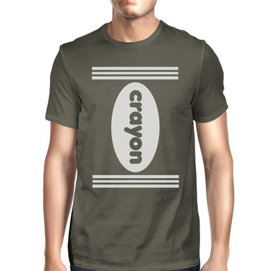 Crayon - Dark Grey Shirt