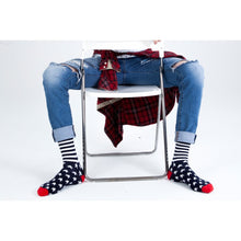 5-Pair Patriot USA American Flag Socks