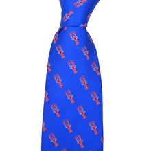 Lobster Necktie - Printed Silk