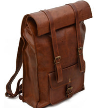"Rolltop Backpack ""Leather"""