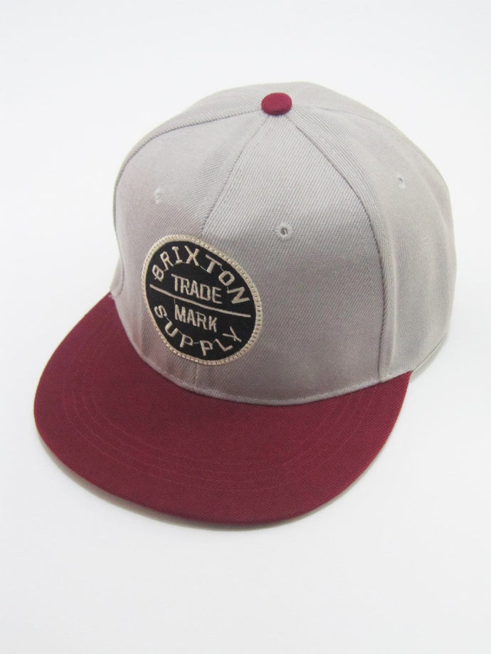 Embroidered Patched Snap-Cap