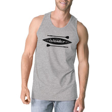 Islander Paddle Board Grey Summer Tanks