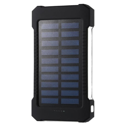 Portable Waterproof 30000mah Solar Power Bank