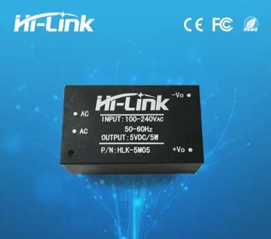 220v 5V AC - DC isolated power supply module, HLK-5M05, switching step-down 5w power module