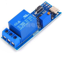 5V-30V Delay Relay Timer Module Trigger Delay Switch Micro USB Power Adjustable Relay Module