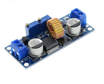 5A DC to DC CC CV Lithium Battery Step down Charging Board Led Power Converter Lithium Charger Step Down Module XL4015 blue