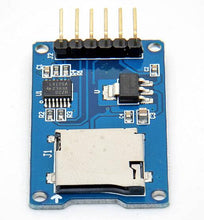 Micro SD Storage Board Mciro SD TF Card Adapter Memory Shield Expansion Module SPI For Arduino AVR Microcontroller 3.3V