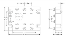 7-21  3 phase solid state relay