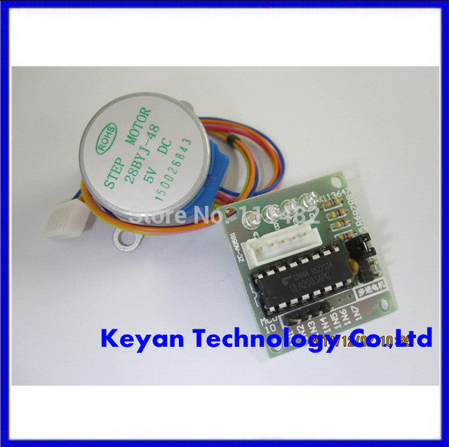 ULN2003 Pcb Board with Mini Motor