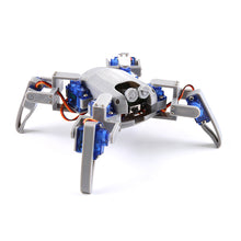 Quadruped spider robot maker education electronic DIY Kit steering gear bionic spider WiFi control