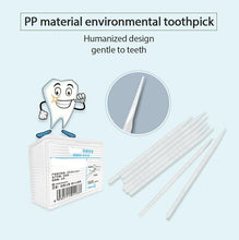 Smart toothpick dispenser with 200 pcs  toothpicks
