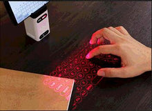 Laser projection Virtual Laser Keyboard Black technology computer mobile phone universal Bluetooth wireless 3D projection touch keyboard invisible infrared light sensitive portable notebook keyboard