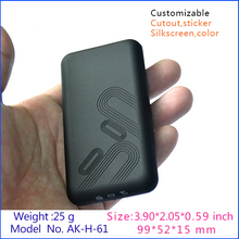 diy electrical plastic handheld small enclosure (1 pcs) 99*52*15mm