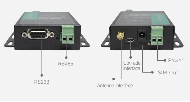 USR-GPRS232-730 RS232//RS485 GSM Modems Support GSM//GPRS GPRS to Serial Converter