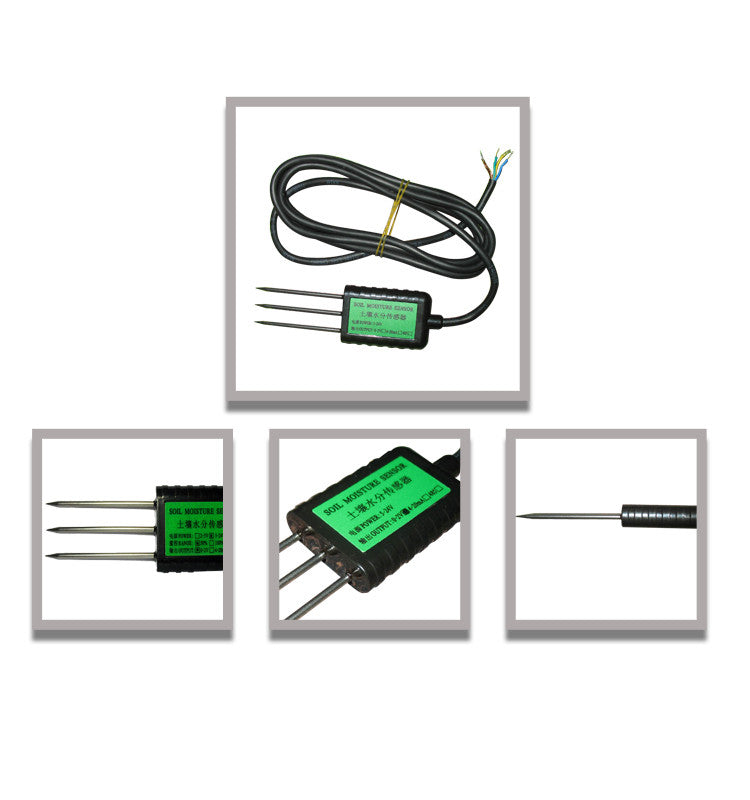 Soil temperature moisture sensor